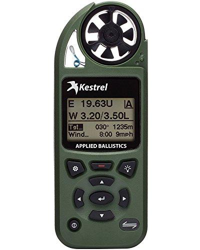 Kestrel OB-KEST-0857AOLV 5700 Elite Wettermesser mit aufgetragener Ballisitik, Braunoliv, Standard Non-LiNK