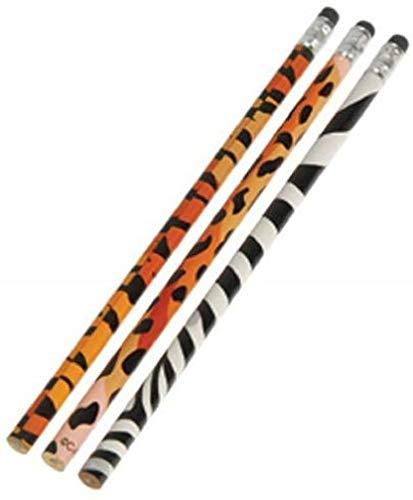 Animal Print Pencils - 12 ct