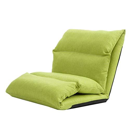 JJZXT Einstellbare Position Memory Foam Floor Chair Gepolsterter Gaming-Stuhl Komfortable Rückenstütze Rocker Ideal zum Lesen (Color : C)
