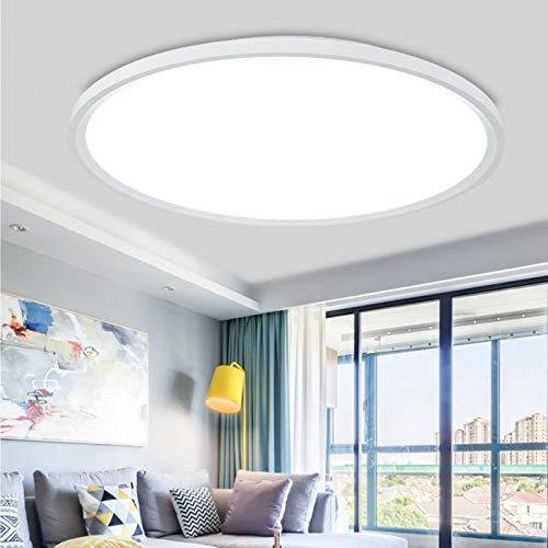 Plafon led de techo, lamparas de techo habitacion, Moderna Plafón LED de Techo Regulable con Mando a Distáncia, para Baño Dormitorio Cocina Balcón Pasillo Sala de Estar Comedor