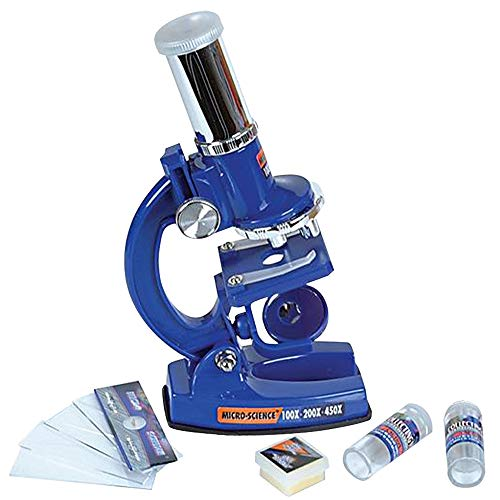 ArtCreativity Microscope Set for Kids, Science Toys Kit with Functional Microscope, Vials, Slides, and More Accessories, Educational Toys for Kids' Science Experiments, STEM Gifts for Boys and Girls