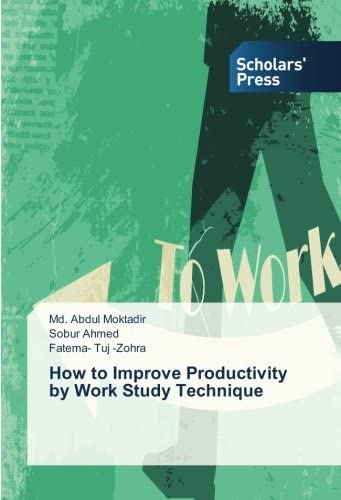 How to Improve Productivity by Work Study Technique product image