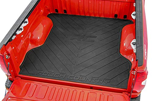 Rough Country Rubber Bed Mat (fits) 2019-2021 Ram...
