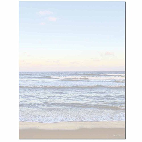 Price comparison product image Shoreline Letterhead Laser & Inkjet Printer Paper,  25 pack