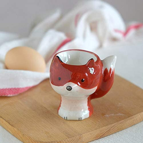 Animal shape Washable Ceramic Egg 4 Spring new work one after another years warranty cup hard holder boiled eggs co