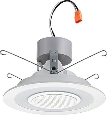 Lithonia Lighting LED Retrofit Module with integrated Bluetooth Speaker