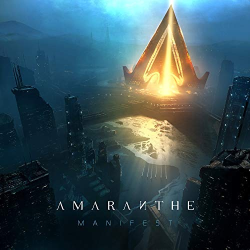 Album Art for Manifest (Cyan Vinyl) by Amaranthe