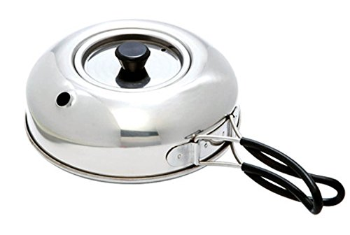 Life Sports ステンレス やかん600ml 野外活動 キャンピング用 薬缶 海外直送品 (Stainless Steel Kettle 6...