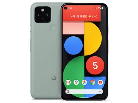Google Pixel 5 128 GB、Sorta Sage、SIM フリー