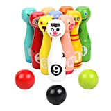 Cute Indoor Outdoor Kids Bowling Friends Play Set Animal Bowling Game Set