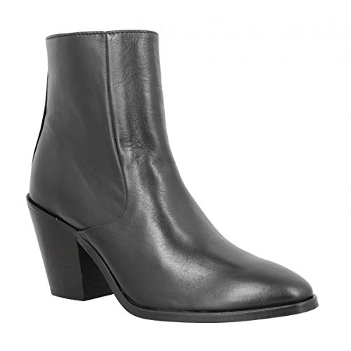 Schmoove Diva Boots Cuir Femme Noir