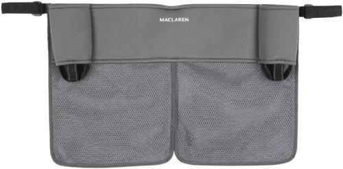 Maclaren - Organizador para cochecito, color gris