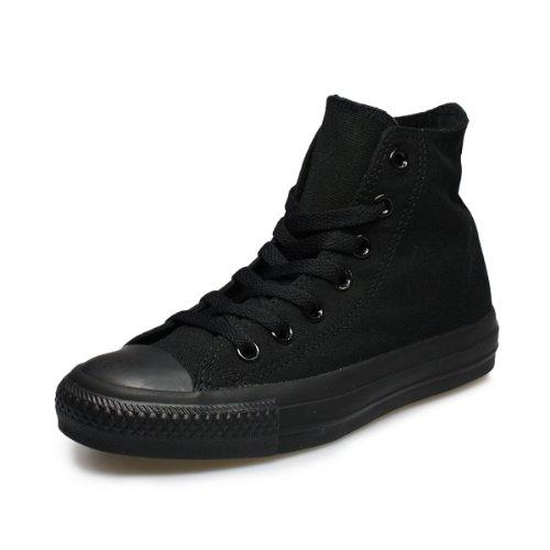 Converse All Star Hi Canvas - Zapatos para hombre, color negro, talla 42.5