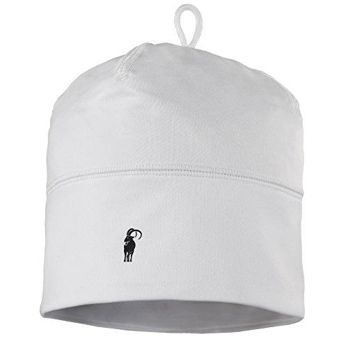 ALPIDEX Kinder Sportmütze Fussball Fahrrad Mütze Helm Unterziehmütze Dünn Jungen Mädchen, Farbe:White
