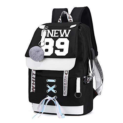 Shinee Rucksack für Kinder und Jugendliche Rucksack-Schul Trekking Rucksack Wandern Bag Trend Damenmode Wild Style Sport Erwachsene Daypack Gelegenheits Kinder