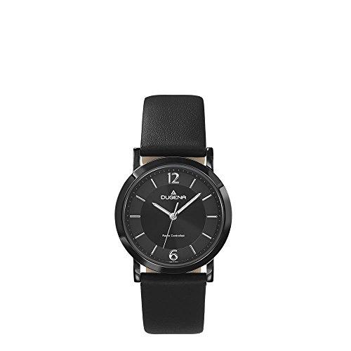 Dugena Damen Analog Quarz Uhr mit Leder Armband 4460842