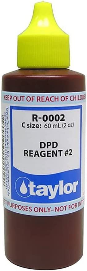 Taylor Technologies R-0002-C No.2 Reagent Max 87% OFF Liquid for DPD Animer and price revision Swimmin