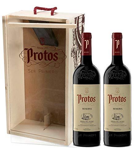 Protos Reserva, Estuche Vino Tinto 2 botellas 75cl