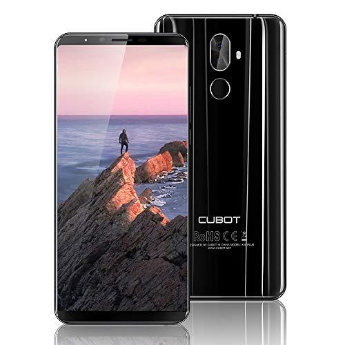 CUBOT X18 Plus Smartphone, 4G Android 8.0 5.99 Pollici Schermata FHD + 18: 9 MT6750T Octa-Core 4GB + 64GB 20MP + 2.0MP e 13MP 4000mAh Riconoscimento delle Impronte Digitali