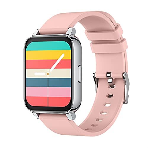 ACONAG Smart Watch Women 1. 69 Pulgadas Pantalla táctil sin táctil sin Borde Tracker de Aptitud de la presión Arterial Reloj Inteligente Hombre GTS SmartWatch vs P8 B57 (Color : Pink)
