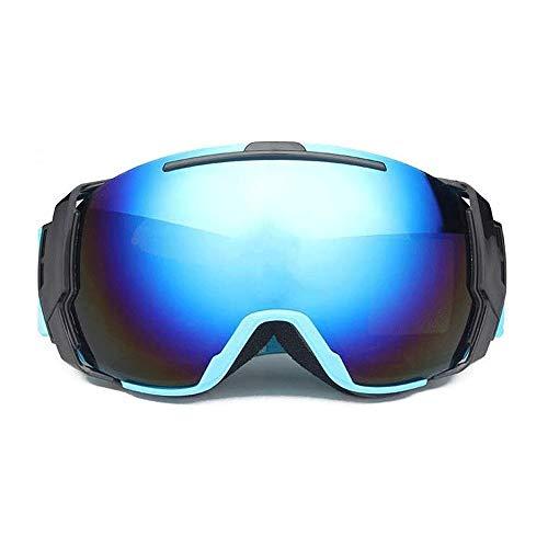 WCJ Skibrille UV-Schutz Snowboardbrillen, Anti-Fog & Winddichtes & Elastic Einstellung zum Skifahren, Radfahren Motorrad Motorschlitten Skibrille, Outdoor Sport (Color : C)