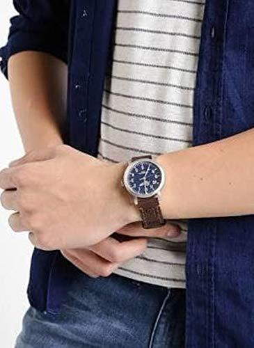 Timex Reloj Analógico para Unisex de Cuarzo con Correa en Cuero TW2P96600