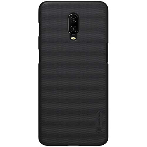 Nillkin Super Frosted Shield Hard Back Cover Case for OnePlus 6T - Black