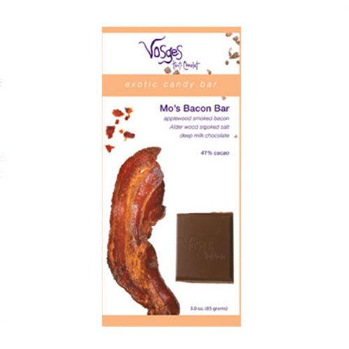 Chocolate and Bacon Candy Bar - Milk - Value Bundle of 6 (18 ounce)