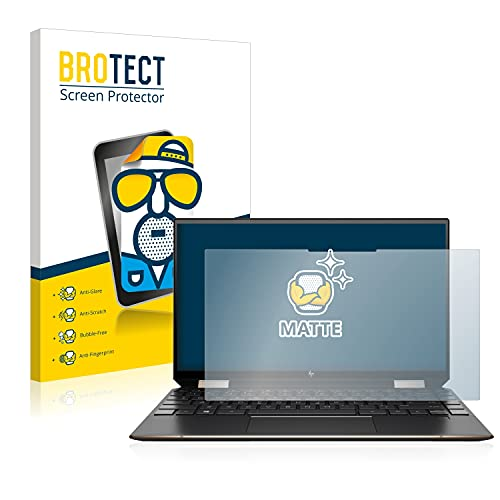 BROTECT Entspiegelungs-Schutzfolie kompatibel mit HP Spectre x360 13-aw0320ng Bildschirmschutz-Folie Matt, Anti-Reflex, Anti-Fingerprint