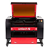 OMTech 60W CO2 Laser Engraver, 60W Laser Cutter Machine, 20x28 Laser Engraving Machine with Autolift...