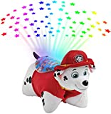 Pillow Pets Paw Patrol Marshall Sleeptime Lites – Marshall Plush Night Light Stuffed Animal