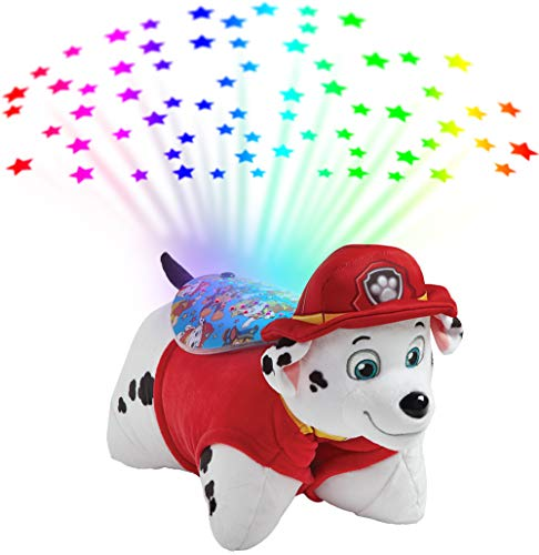 Pillow Pets Paw Patrol Marshall Sleeptime Lites – Marshall Plush Night Light
