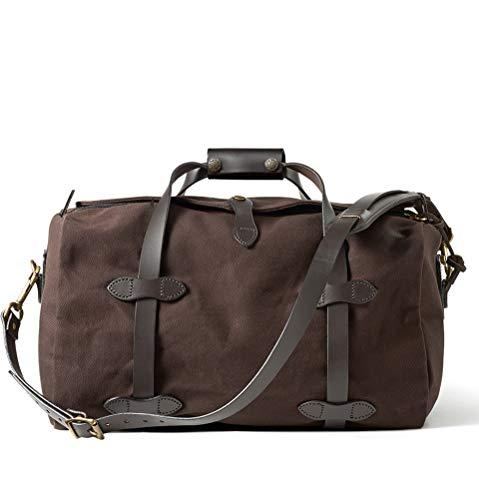 Filson Reisetasche aus robustem Köper, klein, Braun