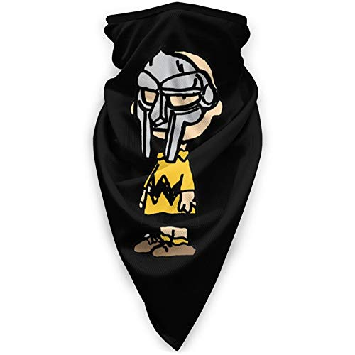 Charlie Brown Mf Doom Windproof Sports Mask Outdoor Scarf Neck Warm Turban Headwear Hat Breathable Face Mask