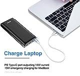 Baseus Power Bank Externer Akku 30000mAh, USB C Schnelles Aufladen Tragbares Ladegerät für iPhone, iPad, Mac, Kompatibel mit Samsung, Huawei und mehr - 5