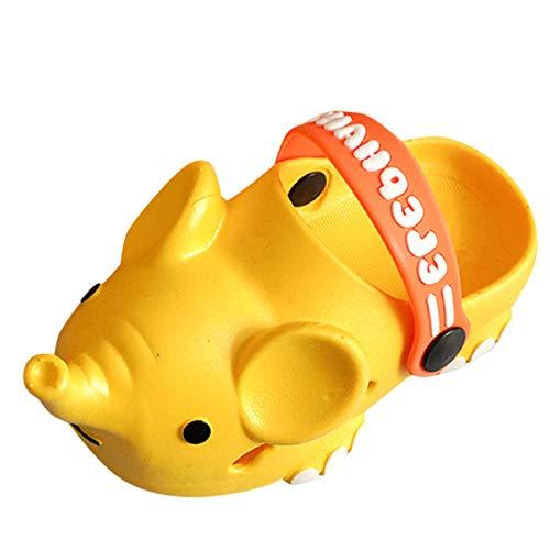 YWLINK Sandalias De Bebé,Zapatillas De Dibujos Animados,Zapatos De Elefante Lindo,Sandalias Antideslizantes,Zapatos De Playa,Zapatillas De Casa,Zapatos Lindos Casuales Chicas NiñO NiñA