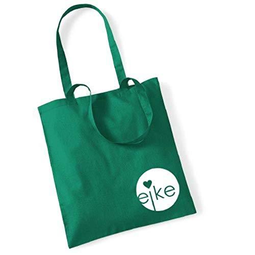 Eike, Borsa a mano donna Verde verde 42 x 38 cm