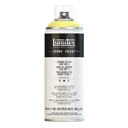 Liquitex Professional Spray Paint, Cadmium Yellow Light Hue 6