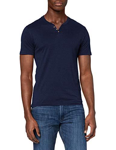 Celio RENEBET Camiseta, Heather Navy, XS para Hombre