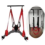 Š&êx Door Swing, Over The Door Adult Hanging Yoga Sling Swing with Nylon Straps, Bondagê Kit for Couple Thǐghs Apart Training Game