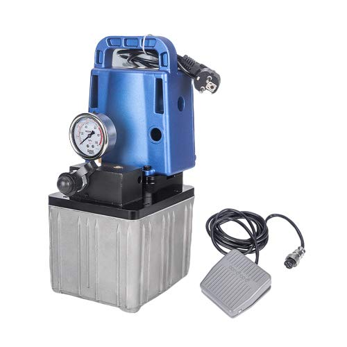Best Prices! NEWTRY Portable Electric Hydraulic Pump 1.2KW Small Electric Pump High Pressure 10152Ps...