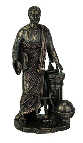 Pythagoras of Samos Mathematician Statue Sculpture