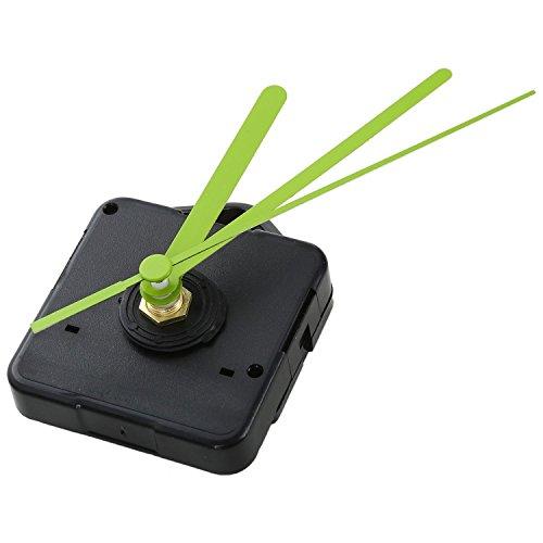 Timagebreze Movimiento de Cuarzo Mecanismo de Movimiento del Reloj de Pared Modo silencioso DIY Kit de Piezas de Repuesto de reparacion Decoraciones de casa