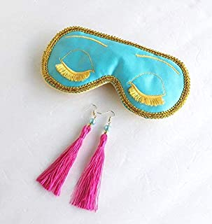 Breakfast at Tiffanys Sleep Mask Holly Golightly Sleep Mask Audrey Hepburn Bachelorette Party Mask.