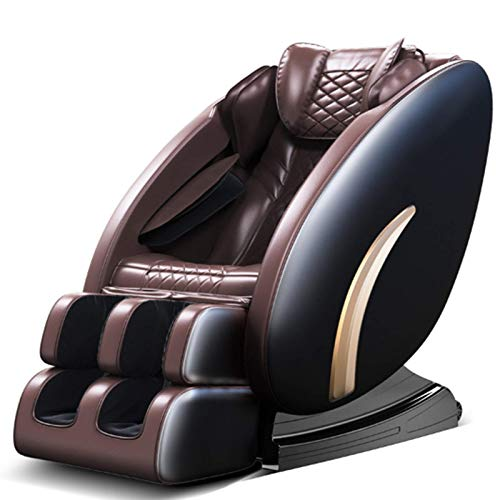 Sedia da Massaggio per Pista SL Zero Gravity, Poltrona con Sedia da Massaggio shiatsu Full Body con Salvataggio Spaziale, Stretching thailandese, Bluetooth, Calore, Rullo a Pedale