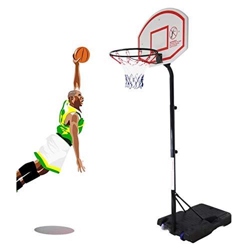 Angelay-Tian Aro de Baloncesto for niños Set, Set de Baloncesto Ajustable portátil, Conveniente for al Aire Libre, for Adultos y niños Juegos