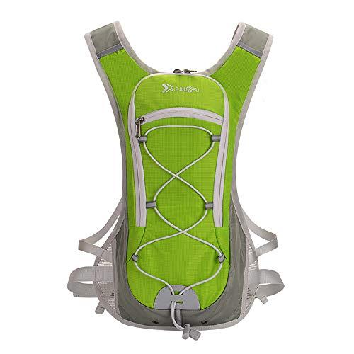 BWBIKE Fahrradrucksack Wasserdichter Fahrradrucksack Outdoor-Reitrucksack Fahrradrucksack Wasserblase Fahrradrucksack Atmungsaktiver Trinkrucksack Ski-Rucksack