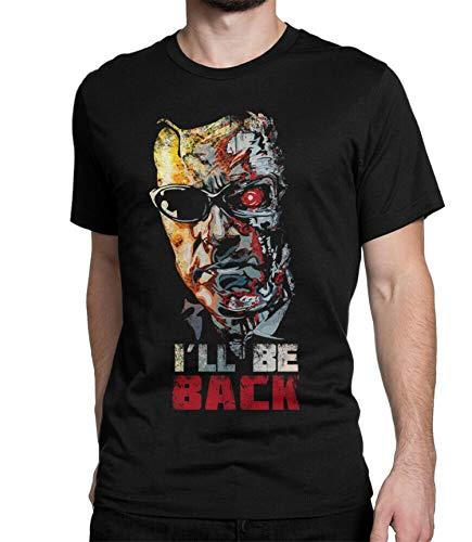 Men's Terminator I'll Be Back Arnie T-shirt