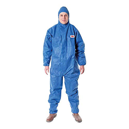 3M 4515 Indumento di protezione 5/6, SMS Polipropilene, Blu, taglia 2XL