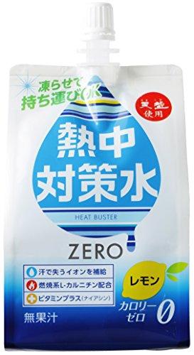 熱中対策水 レモン味 ソフトパウチ 300g×30本